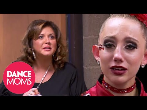 ABBY S LOW BLOW AGAINST A CANDY APPLE Season 5 Flashback Dance Moms