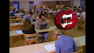 funny scene from Attack Of The Killer Tomatoes