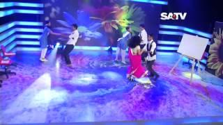 Aashona Satv Dance Program Ft  Nusrat Faria Mazhar FusionBD Com