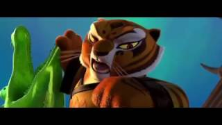 Kung Fu Panda 3- Tigress and Lei Lei