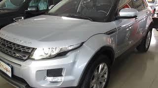 Auto Futura TV - Land Rover Evoque 2.0 Pure Tech 4WD - 2013 (VENDIDO)