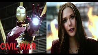Civil War Best Scene (ScarletWitch Vs. IronMan) HD 720P