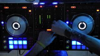 NEW EDM Rave DJ MIX Pioneer DDJ-SX - Falling From The Moon