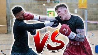 JOE WELLER VS JEREMY LYNCH - WINNER GETS $25,000 (Boxing Match) BEHIND THE SCENES!
