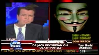 Anonymous Hacks Fox News Live on Air - 2015
