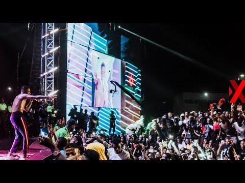 Xxx Mp4 Wizkid MadeInLagos Shutdown Festival Live Stream Powered By XChange NG 3gp Sex