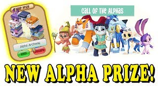 The New Animal Jam Alpha Archway! Call Of The Alphas Journey Book Cheat!
