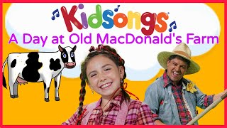 Kidsongs:A Day at Old MacDonald's Farm| Mary Had a Little Lamb|Children's song  pigs, cows |PBS Kids