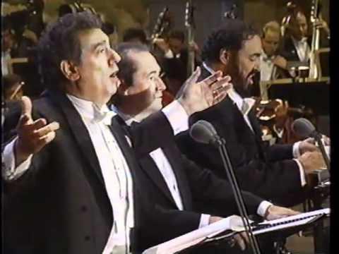 The 3 Tenors O Sole Mio 1994
