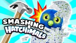 Smashing Hatchimals