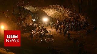 Thailand cave rescue: Children found 'by smell' - BBC News