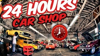 (OMFG) 24 HOUR OVERNIGHT CAR DEALERSHIP ⏰   KIDNAPPED BY OWNER BEST 24 HOUR CHALLENGE (CRAZY TWIST)
