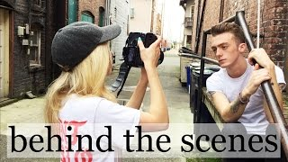 HOW TO PHOTOGRAPH + POSING GUYS | natural light behind the scenes