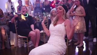 Groom surprised Bride with Sexy Magic Mike Dance