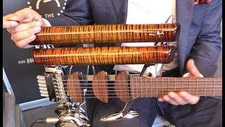 Holy Grail Guitar Show '18 - Teuffel Guitars Naked Birdfish and Niwa Prodigy