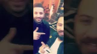 جديد خالد الحنين تصوير فيديو كليب مع رأفت البدر