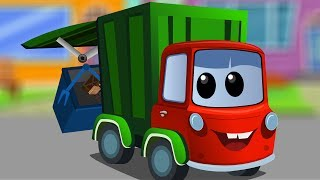 Zeek And Friends | Garbage Truck Song | Compilation For Children | cartoon about cars