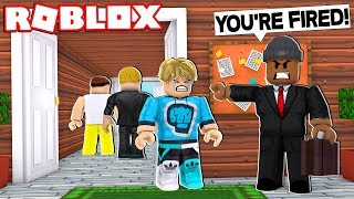 FIRST DAY OF MY NEW JOB!! (Roblox Roleplay)
