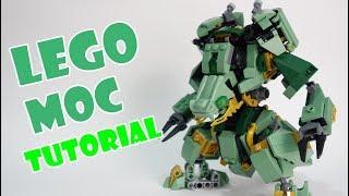 Lego Ninjago Set 70612 alternate build Dragon Mech Suit Tutorial