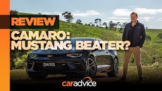 2018 Chevrolet Camaro 2SS review: Australia!