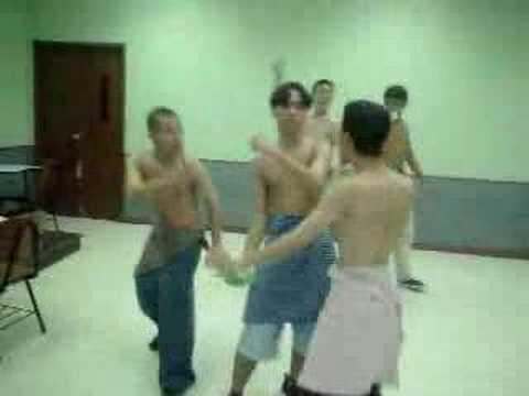 Horny Drunk Dancing Students in School