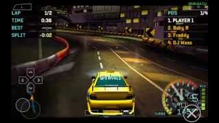 PPSSPP Emulator 0.9.8 for Android | Need for Speed: Underground Rivals [720p HD] | Sony PSP