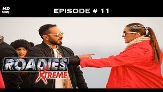 Roadies Xtreme - Episode  11 - Rannvijay shows a roadie the door