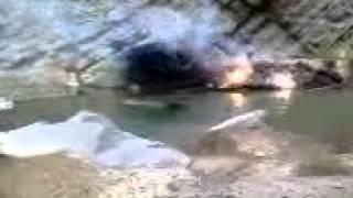 ویدیو سقوط هلیکوپتر سپاه در در گیری های قصرقند