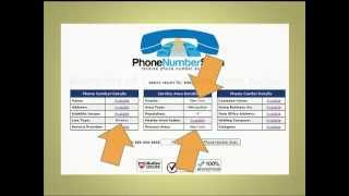 Trace a Cell Phone Number FREE - Trace Cell Phone Numbers FREE -- Instructional Video