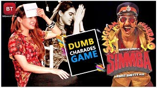 Sara Ali Khan Played Action-Packed Dumb Charades Round With Devansh | Kedarnath Movie Promotion