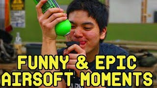 Funny and Epic Airsoft | ROFLcopter Episode 11(Unbelievable Grenade Catch Unedited and MORE)