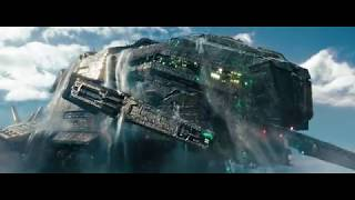 Battleship 2012 First fight with aliens 720p Bluray