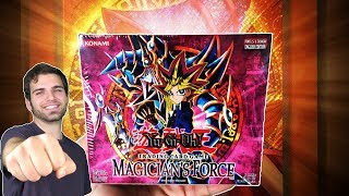 Classic YuGiOh Magicians Force Booster Box Opening! OH BABY!! #1