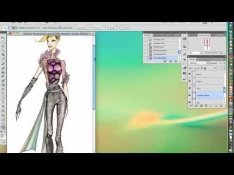 PS5 fashion illustration demo 2/2