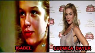 Xica da Silva - actores antes y después!