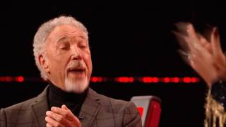 Sir Tom Jones Lets Loose On The Voice UK