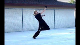 Fanzi Quan - Tess Kielhamer - Old School Kung Fu Form