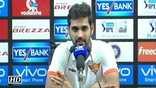 IPL 9 Qualifier SRH vs GL: Bhuvneshwar Kumar Reacts On The Win