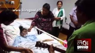 Keerthi Pasquel Singing Song to Hospitalized Girl Kandula Ithin Samaweyan