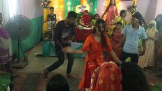 Oishi holud dance- Agnila, blank & Dipto