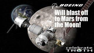 Blast off to Mars from the Moon...Soon! 🌑 | Flat Earth