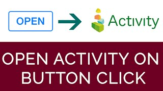 Open Activity on Button Click | Android Studio 2.1.2 | 2016