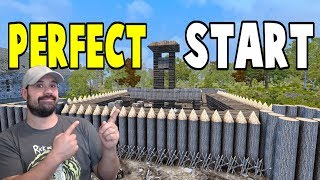 Perfect Start | WotW | 7 Days To Die Alpha 16 Let's Play Gameplay PC | E1