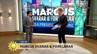 USA:s nya president – extra allt - Nyhetsmorgon (TV4)