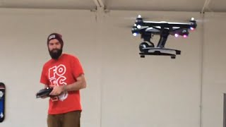GUY DESTROYS DRONE IN 30 SECONDS!