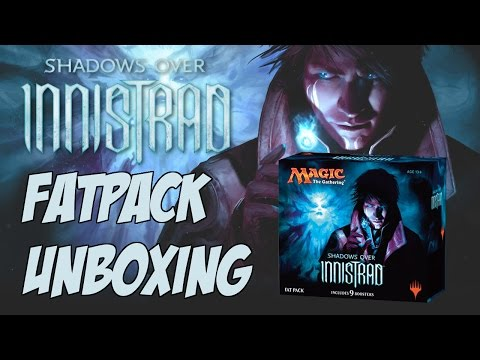 Shadows over Innistrad Fat Pack Unboxing