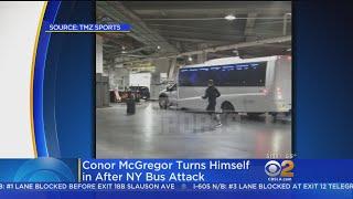 UFC Fighter Conor McGregor Arrested After Attack On Bus