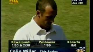 Shahid Afridi FIGHTS FOR PAKISTAN on test debut vs Australia