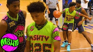 Mikey Williams vs Elijah Fisher - #1 8th Graders Head to Head at MSHTV Camp