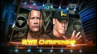 John Cena vs The Rock Highlights - Wrestlemania 29